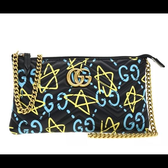 Gucci Handbags - Gucci GG Marmont Ghost Crossbody Chain Bag New